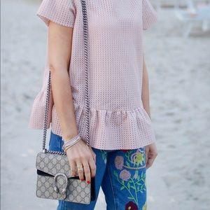 Gucci Bags - GUCCI GG Supreme Mini Dionysus Shoulde Bag
